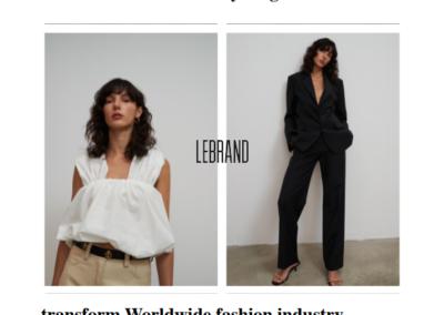 """Pola Panczyk – """"Fashion Article LeBRAND"""""""